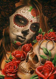 Colección: Dia de Los Muertos por techgnotic en deviantART