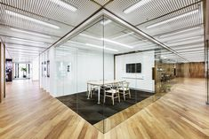 Office conference room design Cool Ch24 Wishbone Chairs In Private Conference Room Conference Room Design Office Ceiling Pinterest 206 Best Conference Room Designs Images Conference Room Design