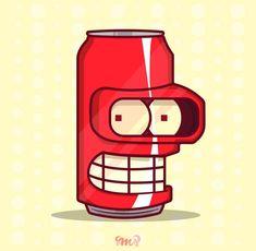 Bender-Cola, Futurama