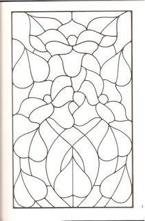VARIOS RISCOS PARA BORDAR vitrais para colorir