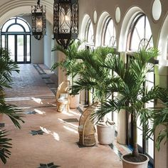 Miami's iconic Surf Club, once a retreat for the rich and famous, is being restored and expanded, with new buildings designed by Richard Meier and interiors by Joseph Dirand. Casa Hotel, Hotel Lobby, Patio Interior, Interior Design, Urban Deco, Le Riad, Luxury Restaurant, Restaurant Design, British Colonial