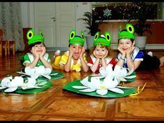 Танец Маленьких Лягушат! Dance of little Young frogs!