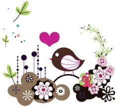 Bird card   Vector Free Designs   Free Vector Graphics Download   Free-Vectors.com