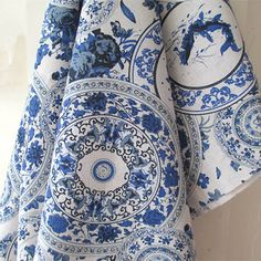Beautiful Chinese Blue and White Porcelain Patterned by JWHouse, $6.00