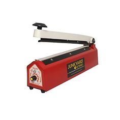 "JUNKYARD ELECTRONICS 8"" inch Hand Sealing Machine ( impulse sealer ) for packing plastic & aluminium pouch and bags 