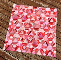 Happy Quilting: Petite Point Quilt Top