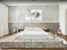 Superbe 27 MODERN INDUSTRIAL BEDROOM DESIGN INSPIRATIONS | Industrial Bedroom Design,  Industrial Bedroom And White Brick Walls
