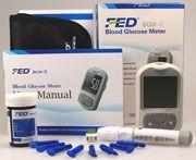 FED BGM-II Blood Glucose Monitor System