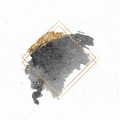 Gold rhombus frame on black watercolor background vector premium image by Aum sasi # Gold Glitter Background, Flower Background Wallpaper, Logo Background, Framed Wallpaper, Flower Backgrounds, Watercolor Background, Black Backgrounds, Wallpaper Backgrounds, Fond Design
