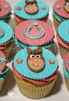 Horse Birthday Cupcakes Horse birthday Horse and Birthdays