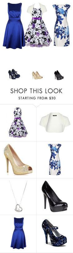 """Aria,Maleny and Darling Outfit"" by cynthiatorres-ii ❤ liked on Polyvore featuring Jane Norman, Dorothy Perkins, Roberto Coin, Pour La Victoire and Coast"