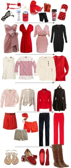 What to wear to #Arkansas games throughout the seasons!