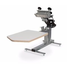 The Odyssey bench model printers have a compact tabletop design with an economical price point. This makes them great for start up shops or as a secondpress to print short run jobs. These presses are light weight and very easy to travelwith.  Take any of the Odyssey bench model presses to your next event for on-site screen printing.
