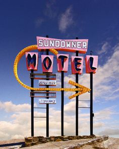 "Saatchi Art Artist: Ed Freeman; Digital 2000 Photography ""Sundowner Motel, Desert Shores CA - Edition 2 of 9"""