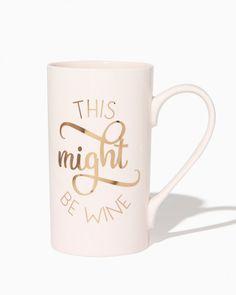 Might Be Wine Mug | Charming Charlie