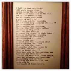 Beauty of Life Quote Typed on Typewriter and Framed by farmnflea, $15.00