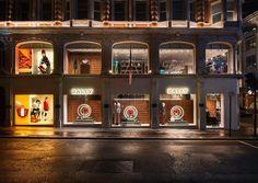 "BALLY, Bond Street, London, UK, ""The Festive Christmas Global Roll-Out"", creative by Millington Associates, pinned by Ton van der Veer"