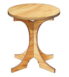 Homemade Plywood Table This collapsible table is perfect for small spaces and crafted with plywood pieces that assemble like a jigsaw ● Diy puzzle. Plywood Table, Plywood Furniture, Diy Furniture, Furniture Design, Chair Design, Wall Design, Design Design, Modern Furniture, Plywood Projects