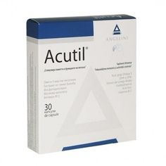 Acutil x 30 cps. Personal Care, Drinks, Cap, Drinking, Baseball Hat, Self Care, Beverages, Personal Hygiene, Drink