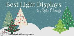 Best Light Displays in Lake County