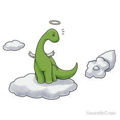 Angel Brontosaurus