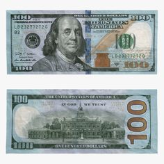 picture about Printable 100 Dollar Bill Front and Back called Micah Degroat (degroat0271) upon Pinterest