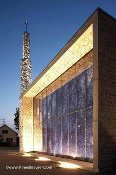 Mosque in Copenhagen (Denmark).