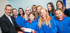 A number of different community initiatives including a Christmas food bank, a gardening project and sporting activities have been supported by Loughborough Uni