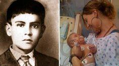 Foto : Beato Jose Luis y la madre de la bebé milagro / Crédito : Facebook Beato Mártir José Sánchez del Río