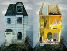 A Beautiful Introvert: Intricate miniature set design by Katy Strutz | Creative Boom