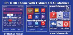 IPL 8 With Fixtures HD Theme For Asha 202,203,X3-02,300,303,C2-02,C2-03,C3-01 Touch and Type Devices ~ Rkthemes   Download Free Themes For Nokia and Android Phones