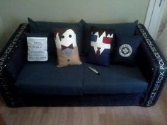 YES! Doctor Who pillows! Just yes!