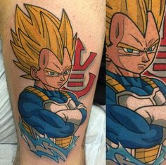vegeta tattoo by adam perjatel