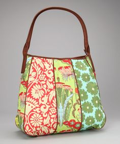 Take a look at this Fuchsia Tree Tomato Small Slouchy Organic Shoulder Bag on zulily today!