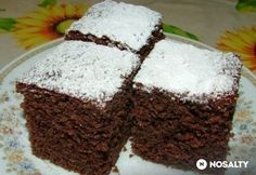 Hungarian Recipes, Hungarian Food, Eclairs, Cakes And More, Cake Recipes, Diy And Crafts, Recipies, Muffin, Food And Drink