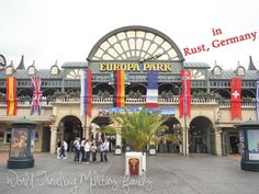 Europa Park – Rust, Germany. It's about 3 hours 11 mins from Spangdahlem, 2 hours 22 mins from Ramstein