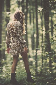 I love this dress, and those boots, and this picture itself is just absolutely gorgeous.