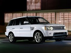 my absolute dream car, if ever I win big in the lottery I will have a Range Rover Sport