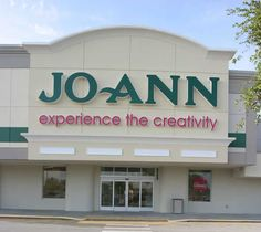 JoAnn Fabrics and Crafts. Love this place!