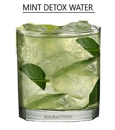 Cucumber, mint and Lemon Detox cleansing water:Cucumber is very hydrating vegetable as it has majorly water in it. Lemon has a cleansing effect, thanks to citric acid which purifies the digestive system. The mint adds the freshness to the drink and enhances the taste as it is a great combination with cucumber and lemon. Slice 1 lemon, 1/2 cucumber and 10 mint leaves. Mix it in 6 cups of water and let it steep overnight. Sip on it the next day.