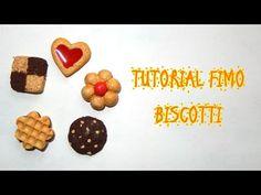 Tutorial Biscotti in Fimo - YouTube