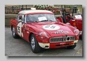 MG MGB FIA front
