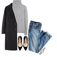 MINIMAL + CLASSIC: No. 29 by mindcontrolled on Polyvore featuring Loro Piana, T By Alexander Wang, J.Crew, Zara, Roamer of Switzerland