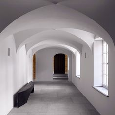 Karen McCartney - This wonderful space is a hallway in Vincent van Duysen's VDCA residence.