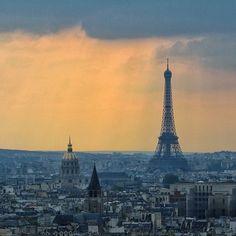 Skyline, Paris  Courtesy of @natenurse