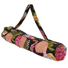 Athleta Bhakti Yoga Bag carrier by PrAna  Transport your mat in eastern-inspired style with this printed bag from PrAna® that has a side storage pocket and adjustable strap.