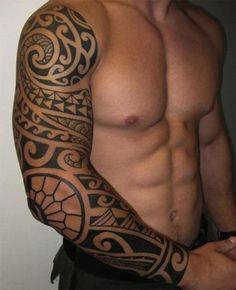 100 Best Sleeve Tattoos Ideas For Men And Women #maoritattoossleeve #hawaiiantattoosforwomen