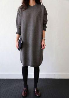 Longpullover für Damen elegantes Outfit