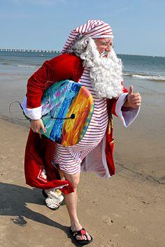Santa On the move...