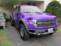 This truck  Purple Ford Raptor